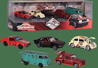 MAJORETTE Vintage Rusty 5er Geschenkset Spielzeugautos Mehrfarbig