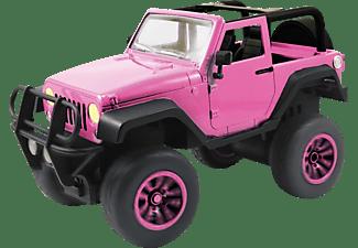 JADA Dickie Toys RC Auto Pink Driverz Jeep Wrangler RC Auto Rosa