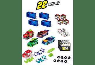 MAJORETTE Tune Up's 4er Set Spielzeugautos zum Tunen Spielset Mehrfarbig