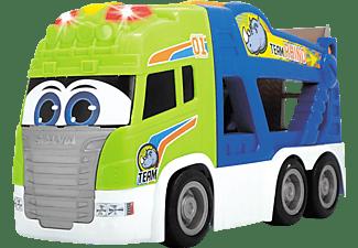 DICKIE TOYS ABC Tim Transporter Truck mit Spielzeugauto Mehrfarbig