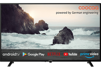 COOCAA 32S3M LED TV (Flat, 32 Zoll / 81 cm, HD-ready, SMART TV, Android 9.0)