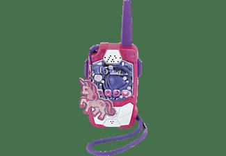 DICKIE TOYS Walkie Talkie Pink Drivez, Funkgerät, Reichweite bis 250 m Walkie Talkie Rosa