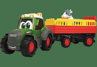 DICKIE TOYS ABC Fendti Animal Trailer, Traktor mit Anhänger Spielzeugauto Mehrfarbig