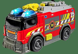 DICKIE TOYS Feuerwehrauto, Licht & Sound Spielzeugauto Rot