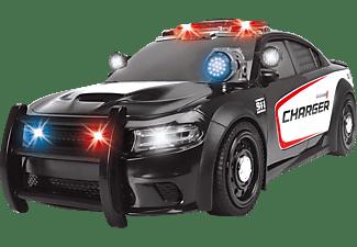 DICKIE TOYS Polizeiauto Dodge Charger Spielzeugauto Schwarz