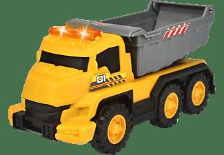 DICKIE TOYS Muldenkipper, Licht & Sound Spielzeugauto Gelb