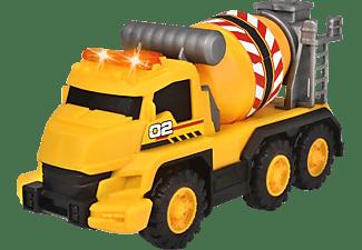 DICKIE TOYS Betonmischer, Licht & Sound Spielzeugauto Gelb