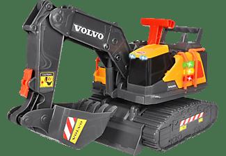 DICKIE TOYS Volvo Schaufelbagger mit Gewichtserkennung Spielzeugauto Gelb