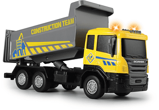DICKIE TOYS City Builder, Muldenkipper, Zementmixer, Kran, 3-sortiert Spielzeugauto Mehrfarbig