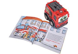 DICKIE TOYS Was ist Was - Feuerwehr Spielzeugauto Rot