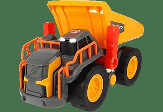 DICKIE TOYS Volvo Kipplaster mit Gewichtserkennung Spielzeugauto Gelb