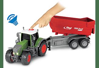 DICKIE TOYS Fendt 939 Vario, Traktor mit Fliegl Anhänger Spielzeugauto Mehrfarbig