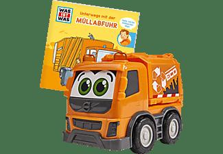 DICKIE TOYS Was ist Was - Müllabfuhr Spielzeugauto Orange