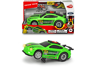 DICKIE TOYS Ford Mustang, Wheelie Raiders, Monster-Truck Spielzeugauto Grün