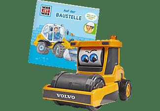 DICKIE TOYS Was ist Was - Baustelle Spielzeugauto Gelb