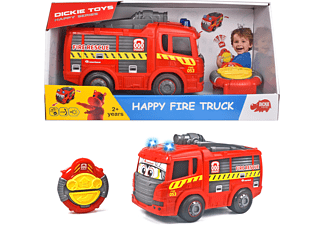 DICKIE TOYS Toys IRC Auto Happy Feuerwehrauto RC Auto Rot
