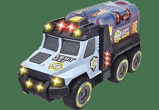 DICKIE TOYS Money Truck, Geld Transporter und Spardose Spielzeugauto Blau