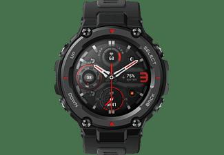 AMAZFIT T-Rex Pro Smartwatch Polycarbonat Silikon, 75 mm + 100 mm, Schwarz