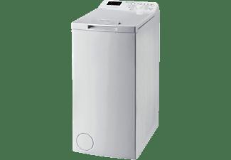 Lavadora carga superior - Indesit BTW S6230P SP/N, 6 kg, 1200 rpm, 13 programas, Balance de agua Plus, Blanco