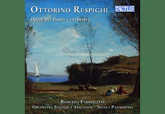 Fabbriciani/Paszkowski/Orchestra Sinfonica Abruzze - OPERE PER FLAUTO E ORCHESTRA  - (CD)