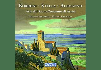 Megumi Akanuma, Filippo Farinelli - Arie Dal Sacro Convento Di Assisi  - (CD)