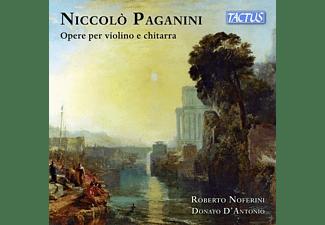 Noferini,Roberto/D'Antonio,Donato - OPERE PER VIOLINO E CHITARRA  - (CD)