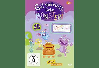 Gut Gebrüllt,Liebe Monster! Teil 4 DVD