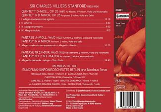 Resa,Nikolaus/Ember,Daniel/Korn,Christoph/+ - PIANO QUINTET, OP. 25 - FANTASIES FOR HORN AND CLA  - (CD)
