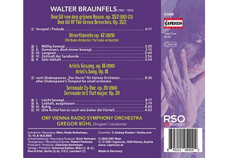 Gregor/orf Rso Bühl - DON GIL, PRELUDE OP.35 - DIVERTIMENTO OP. 42 - ARI  - (CD)