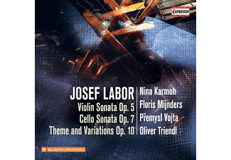 Karmon,Nina/Mijnders,Floris/Vojta,P./Triendl,O. - VIOLIN SONATA, OP. 5 - CELLO SONATA, OP. 7 - THEME  - (CD)