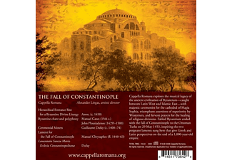 Cappella Romana - The Fall of Constantinople  - (CD)
