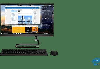 LENOVO IdeaCentre 3i, All-in-One PC mit 23,8 Zoll Display, Intel® Core™ i3 Prozessor, 8 GB RAM, 512 GB SSD, UHD Grafik, Schwarz