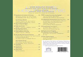 Cappella Romana - When Augustus Resigned  - (CD)