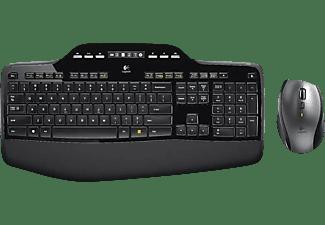 LOGITECH Wireless Desktop MK710 Laser, schwarz (920-002420)