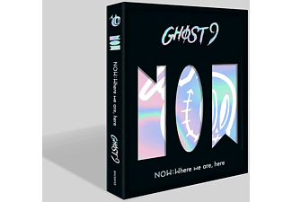 GHOST9 - Now: Where We Are,Here-Inkl.Photobook  - (CD + Buch)