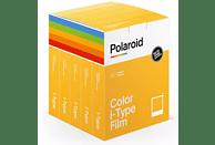 POLAROID Sofortbildfilm Color i-Type X40 5er Pack