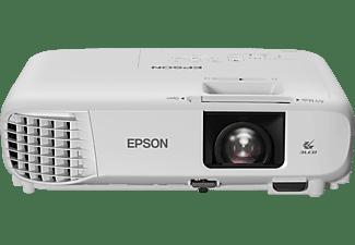 Proyector - Epson EH‑TW740, 210 W, 3300 lm, Full HD, USB-A 2.0, USB-B 2.0, LAN, HDMI, UHE, Blanco