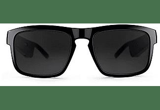 Gafas de sol audio - Bose Frames Tenor, 5.5 h, Bluetooth, Sonido Bose, IPX2, Conector Pogo, Negro