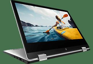 MEDION AKOYA® E3223 (MD 62098), Convertible mit 13,3 Zoll Display, 8 GB RAM, 512 GB SSD, UHD Grafik, Silber/Schwarz
