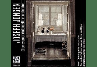 Henri Demarquette, Orchestre Philharmonique Royal De Liege - Werke für Cello und Orchester-Opp.16,18 & 46  - (CD)