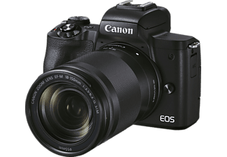 CANON Canon EOS M50 MK II Kit Systemkamera mit Objektiv 18-150mm, 7,5 cm Display Touchscreen, WLAN