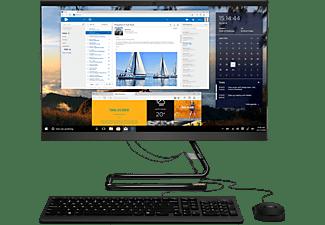 LENOVO All-in-One PC IdeaCentre 3, i3-1005G1, 8GB RAM, 512GB SSD, 23.8 Zoll FHD, DVD, Schwarz (F0FR004WGE)