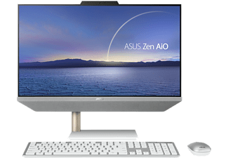 ASUS All-in-One PC Zen AiO 24 M5401WUAK-WA143T, R5-5500U, 16GB RAM, 512GB SSD, 23.8 Zoll FHD, Weiß