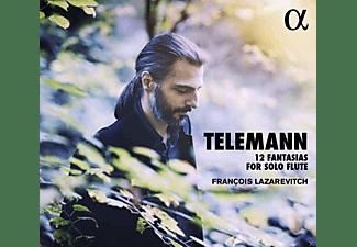 VARIOUS, Lazarevitch Francois - 12 Fantasien für Flöte solo  - (CD)