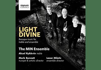 Aksel Rykkvin - Light Divine-Barockmusik  - (CD)