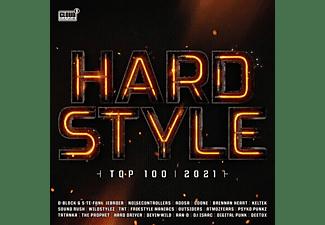VARIOUS - HARDSTYLE TOP 100 - 2021  - (CD)