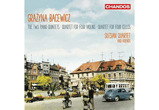 VARIOUS, Silesian Quartet - Klavierquintette/Streichquartette  - (CD)