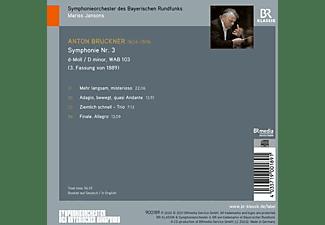 Jansons Mariss/BRSO - SYMPHONY NO. 3 D MINOR, WAB 103  - (CD)