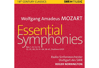 Roger/rso Stuttgart Des Swr Norrington - ESSENTIAL SYMPHONIES  - (CD)