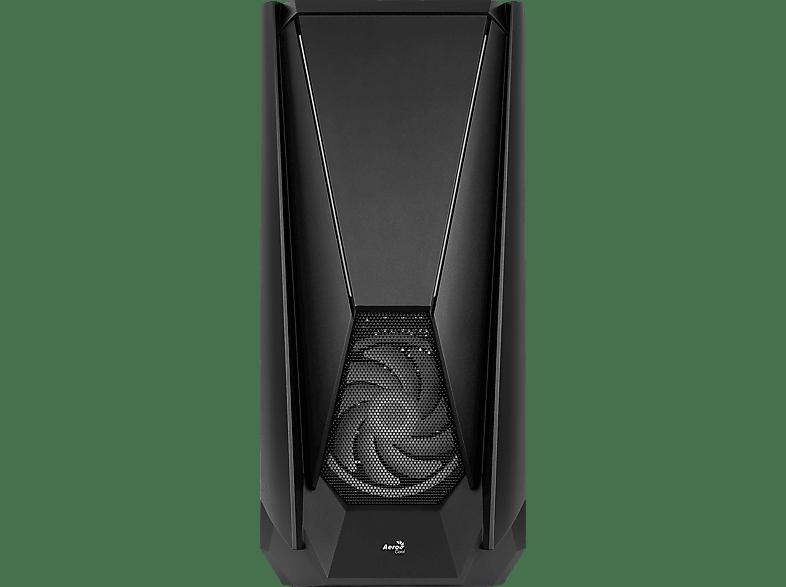 AEROCOOL Visor PC-Gehäuse, Schwarz